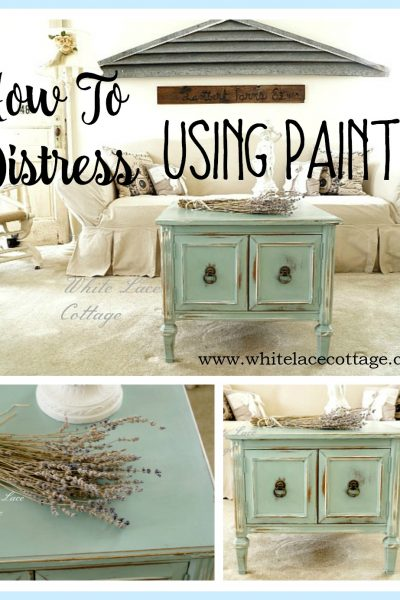 How To Distress Using Paint
