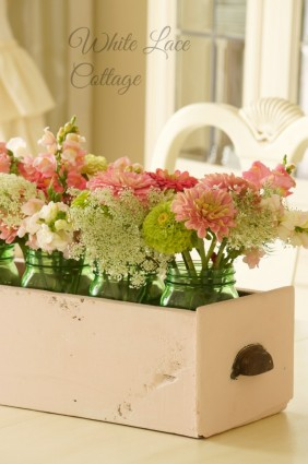 drawer flower box
