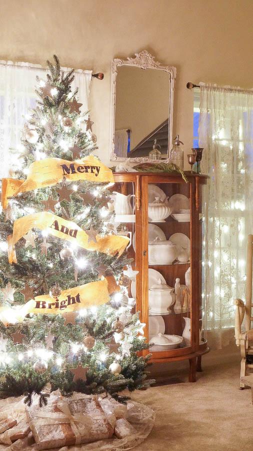 Christmas Tree At Night-11