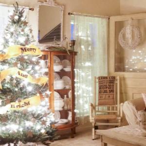 Christmas Tree At Night-15