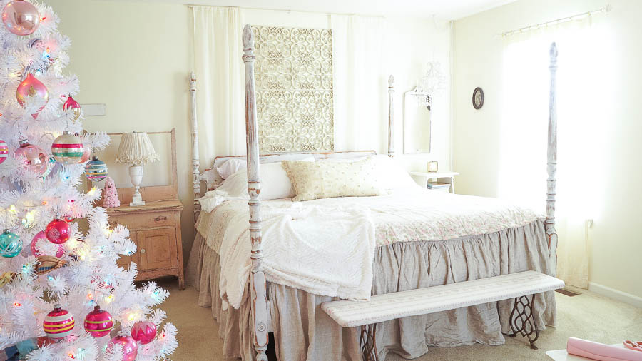 White Lace Cottage Christmas Home Tour-170