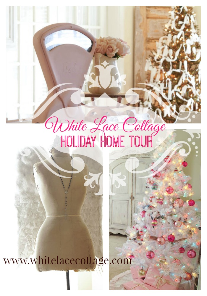 jennifer rizzo white lace cottage holiday home tour