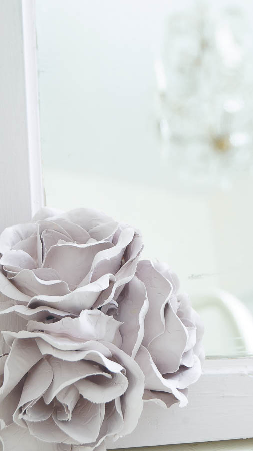 Painting Silk Roses with chalk paint porcelain effect (17 of 57)