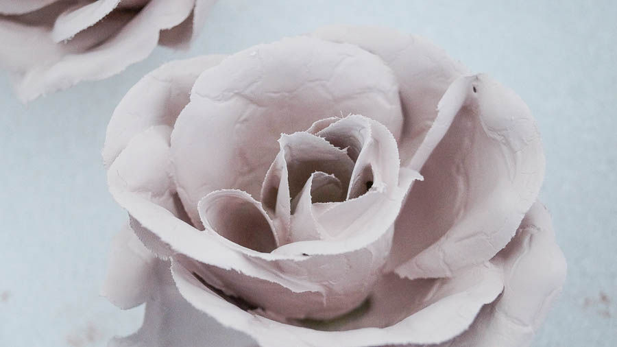 Painting Silk Roses with chalk paint porcelain effect (6 of 57)