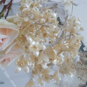 Antique Wax Wedding Crown