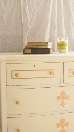 how to update an old piece of furniture gold wax  (28 of 44)