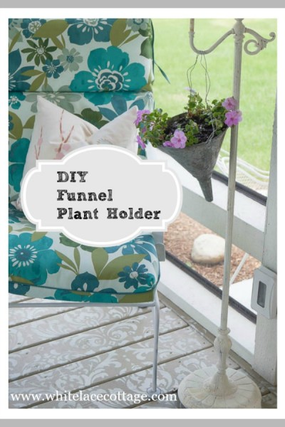Planter Upcycle Project Funnel Transformation