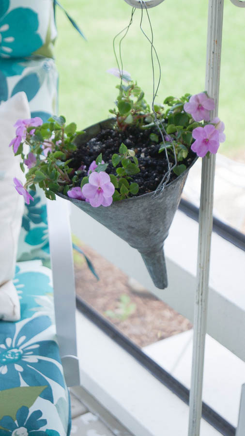 Here's An Easy Planter Upcycle Project Funnel Transformation.