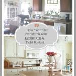 5 Budget Friendly Ways To Transform A Kitchen