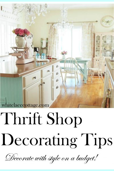 Thrift Shop Decorating Tips