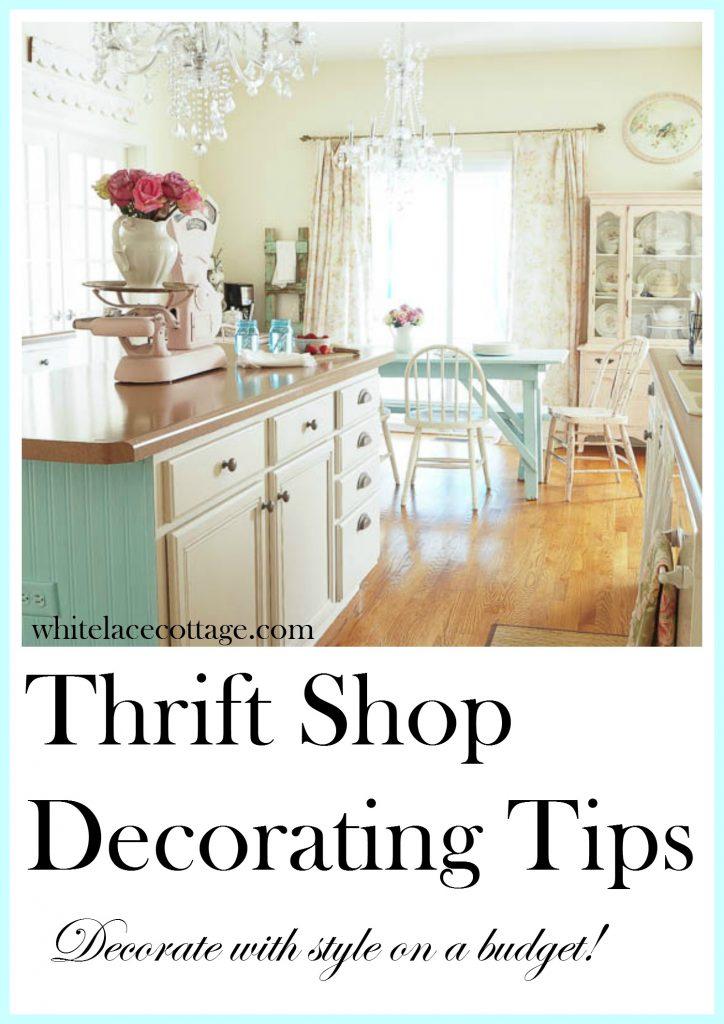 Thrift Shop Decorating Tips
