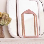 Creating An Aged Chippy Look On A Mantel