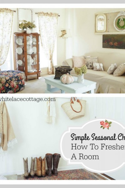 Transforming A Room With Little Or No Money