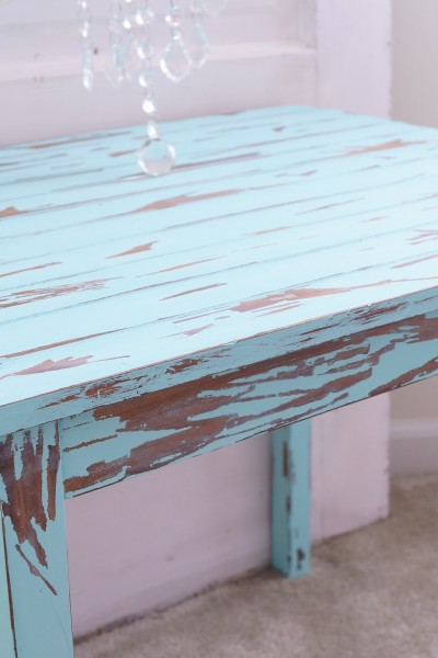 Distress Furniture With Vinegar Tutorial