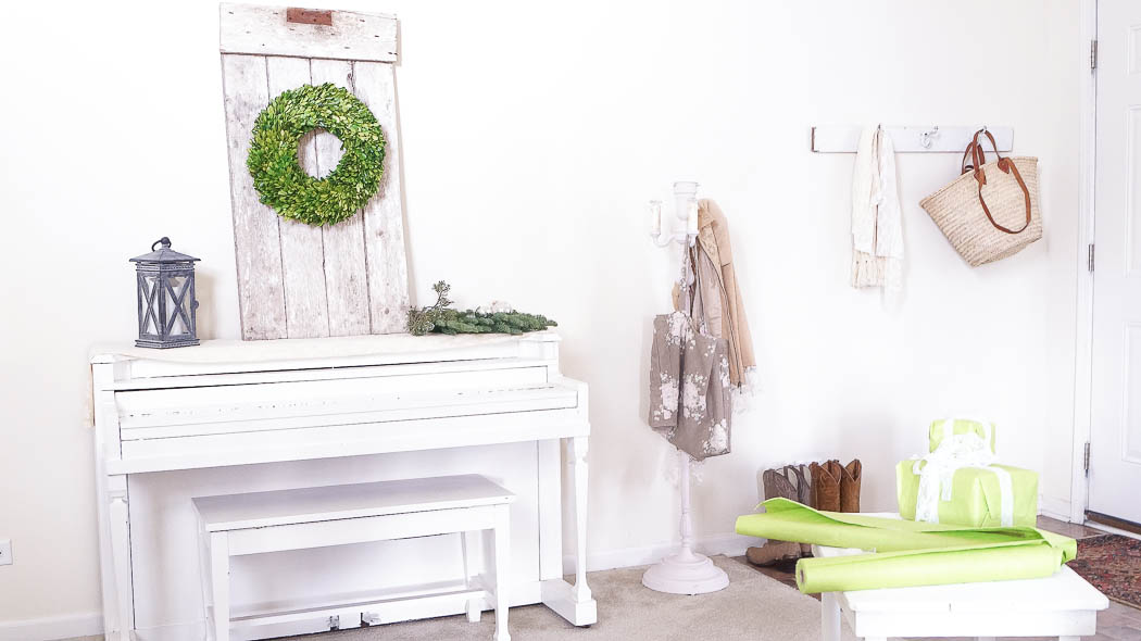 white lace cottage holiday christmas home tour shabby chic-07977