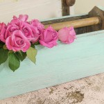 How To Distress Furniture Using Stain And Paint