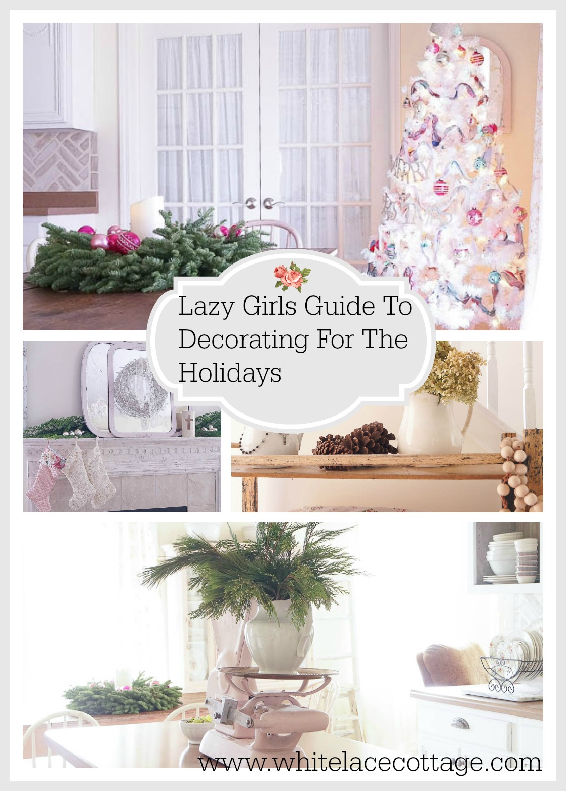 Lazy girls guide to decorating for the holidays