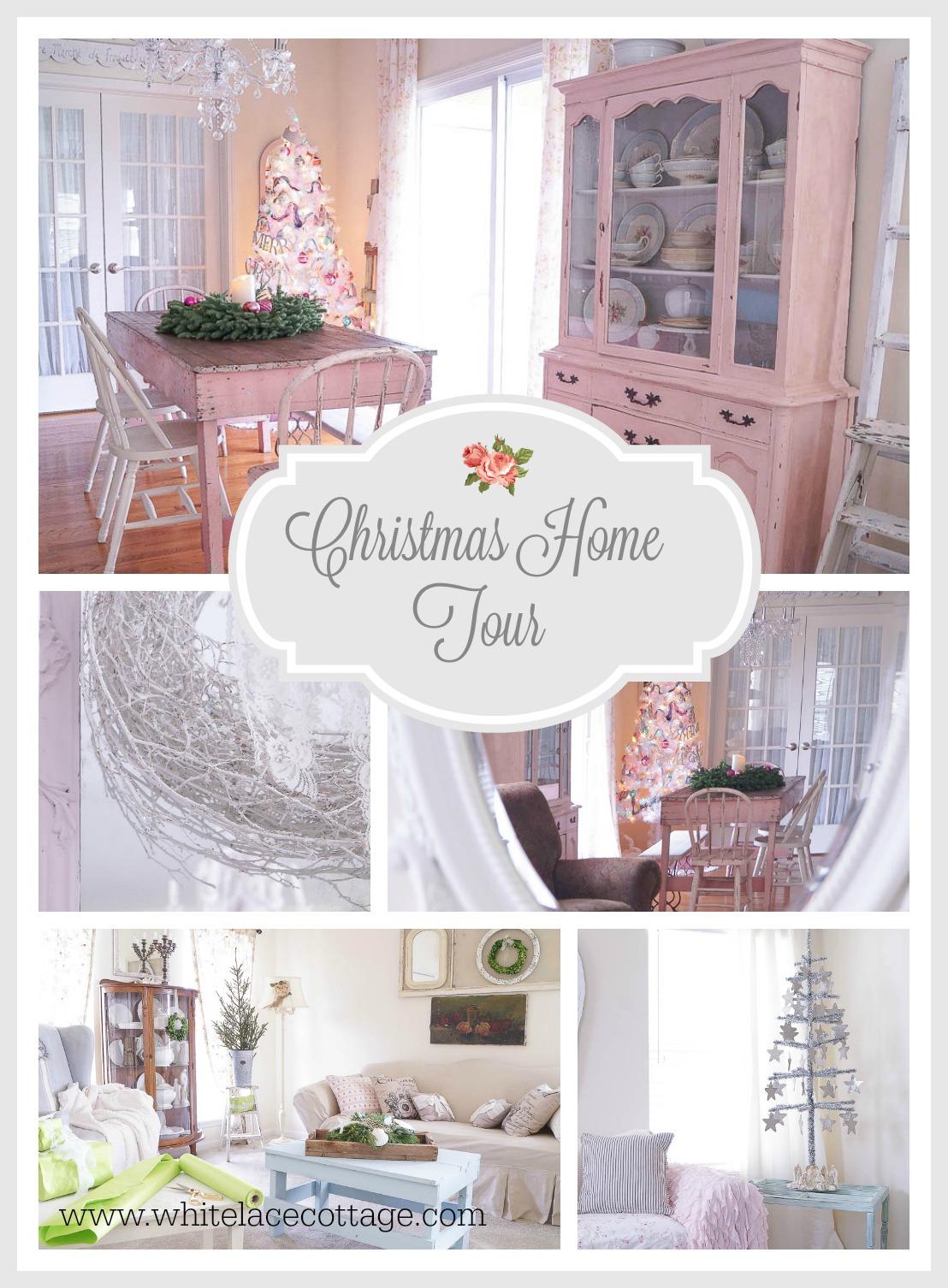 white lace cottage home tour