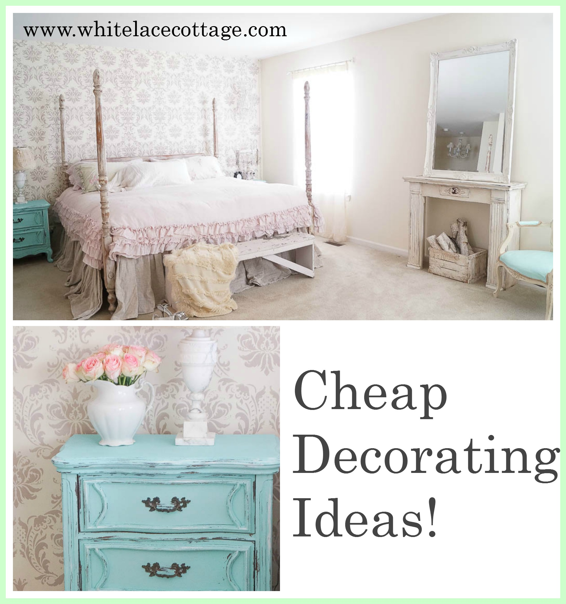 simple cheap decorating ideas for your home