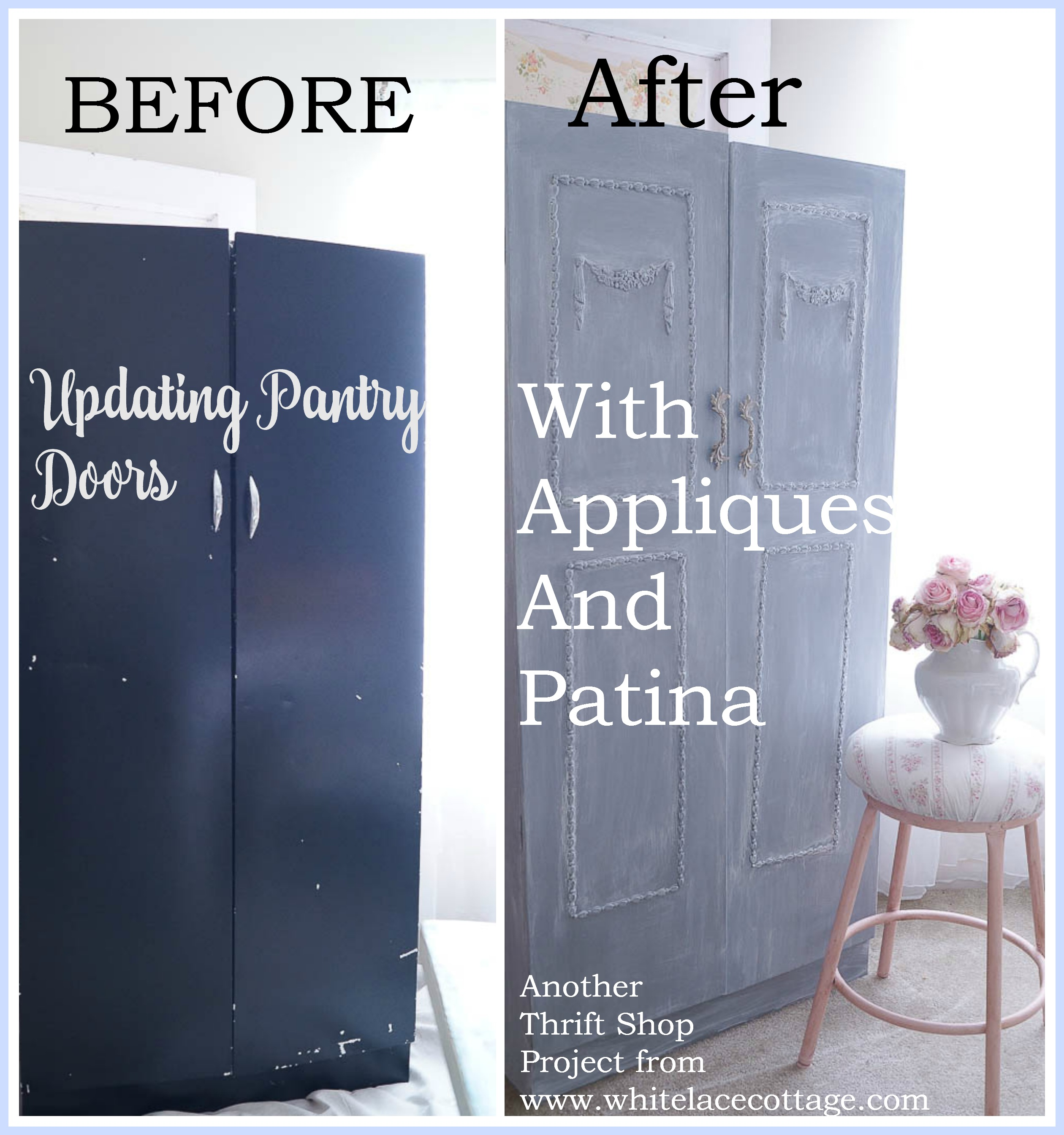 Updating A Metal Pantry