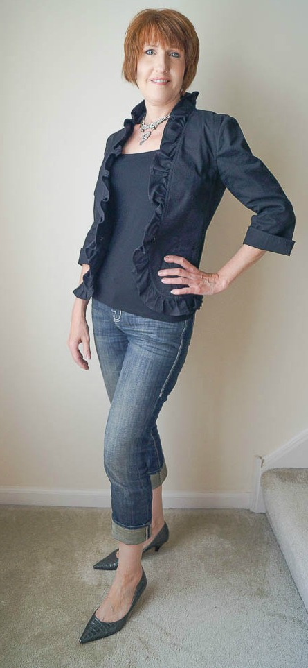 Resale shop fashion for women over 40