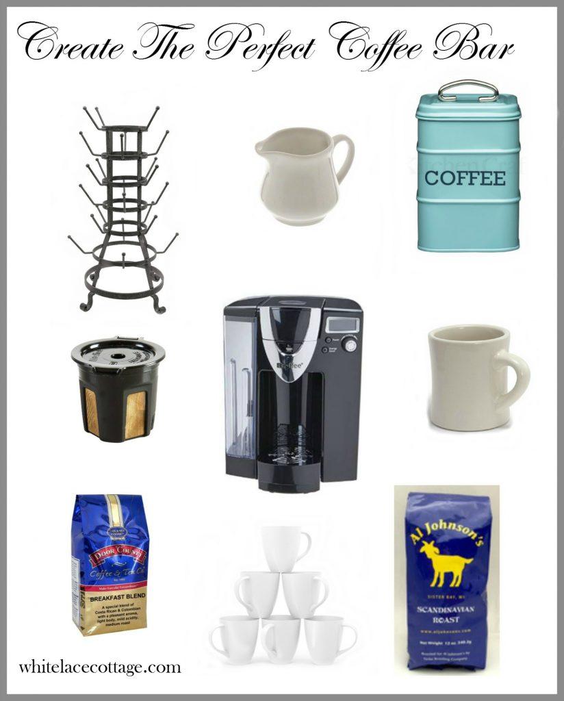 Create The Perfect Coffee Bar