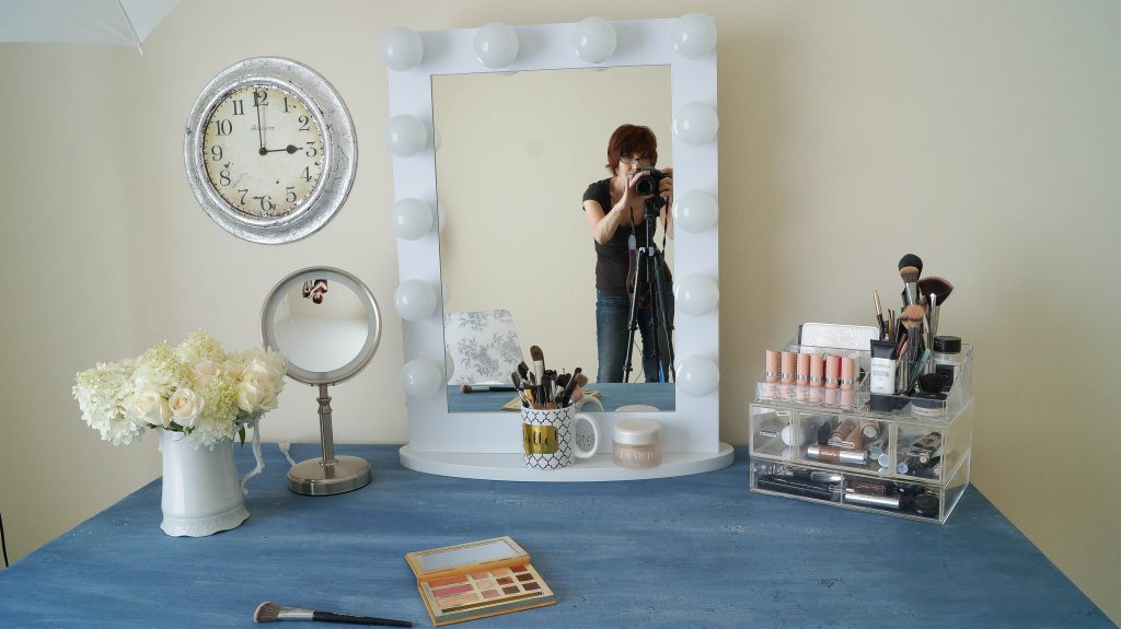 Makeup Mirror In My New Girly Room
