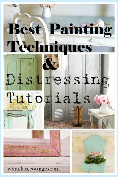 Best Painting Techniques Distressing Tutorials
