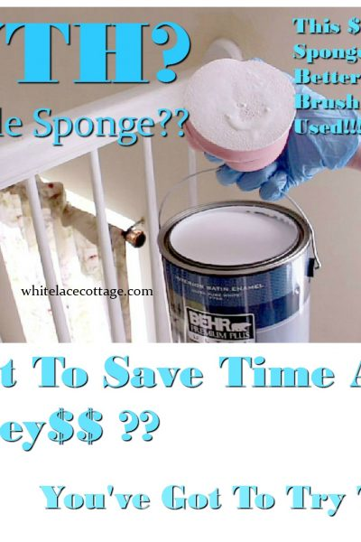 Save Money With This Painting Sponge