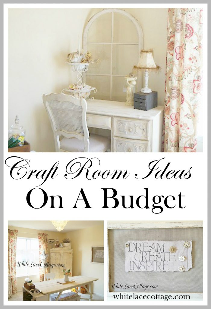 Craft Room Ideas Budget Organizing Storage Solutions
