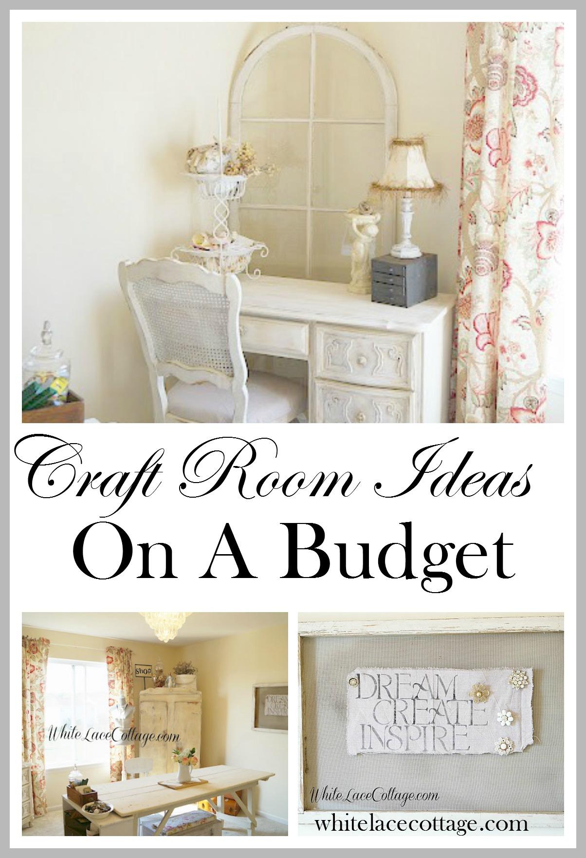 Craft Room Ideas Budget Organizing Storage Solutions
