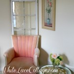 Not too Shabby Pink Chair