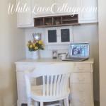 Kitchen Reveal Antique Desk