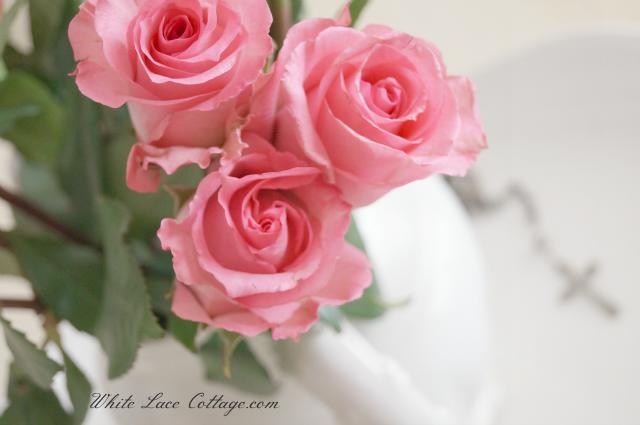 Celebrating My One Year Of Blogging White Lace Cottage