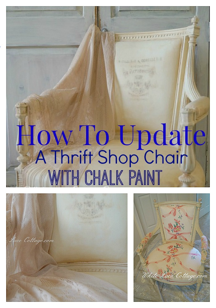 french chair chalk paint