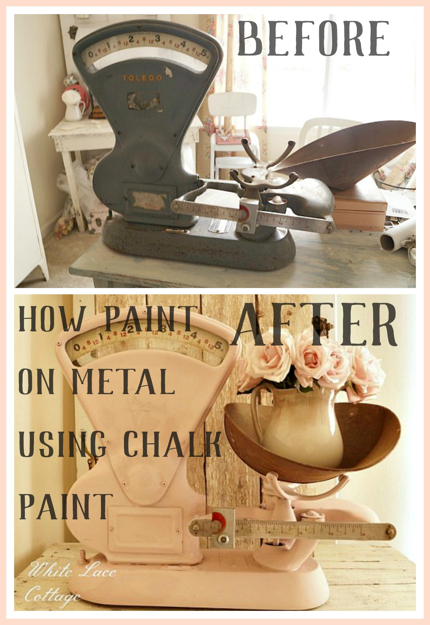 How To Paint On Metal Using Chalk Paint