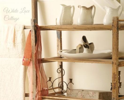wood rack