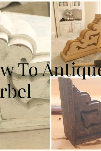 How To Age  A Corbel