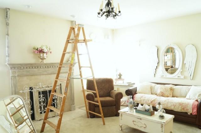family room ladder