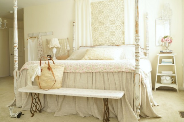 master bedroom shabby changes