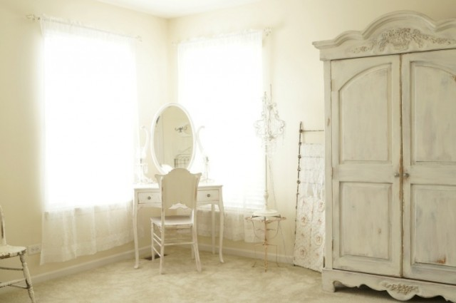 shabby french bedroom
