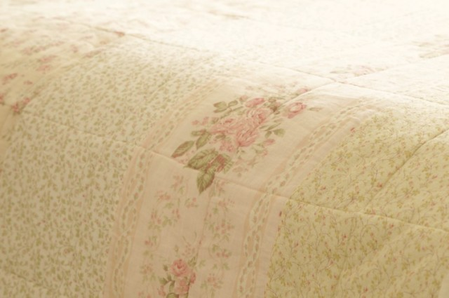 shabby romantic bedding