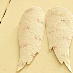 angel wings german glitter