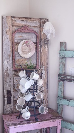 how to make a shabby chic memo board-22