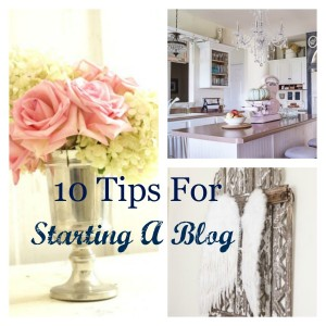 10 tips for starting a blog