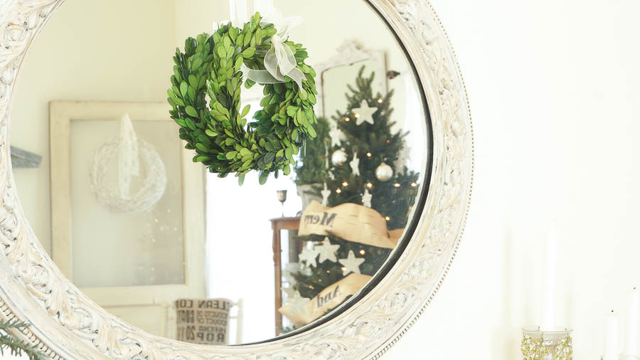 White Lace Cottage Christmas Home Tour-26