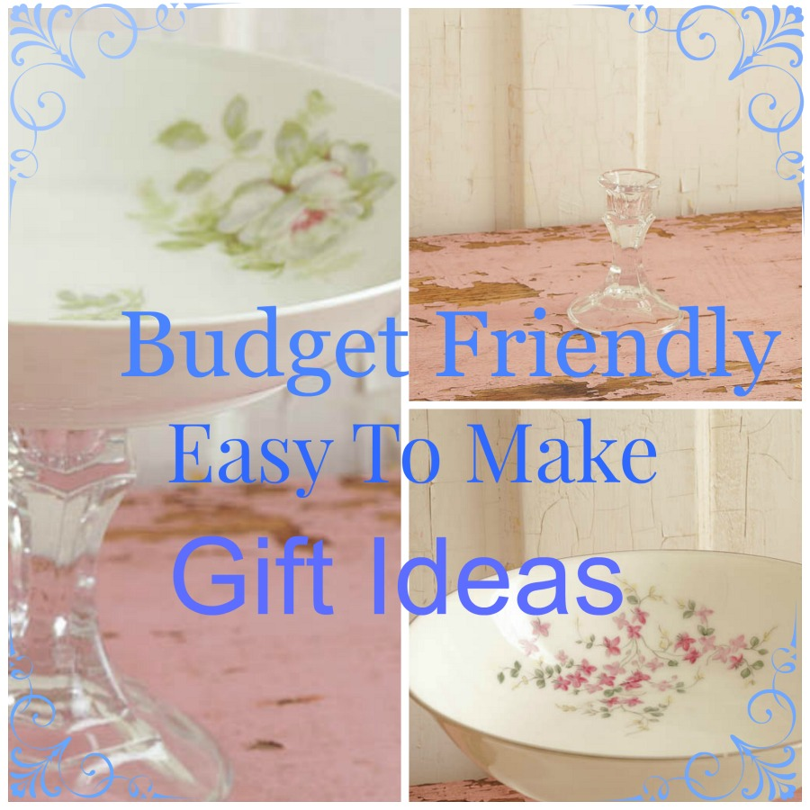 budget friendly easy to make gift ideas