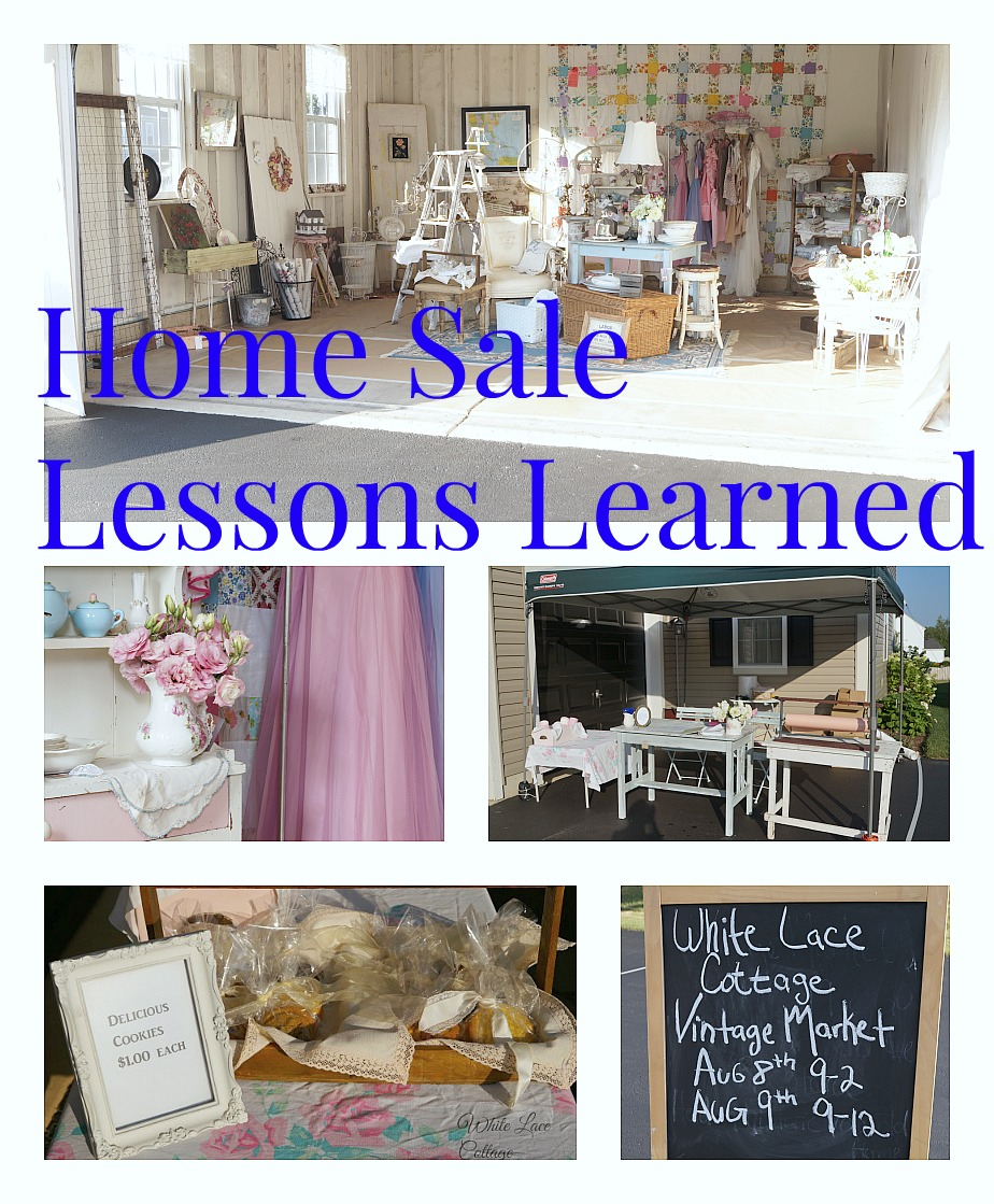home sale lessons learned