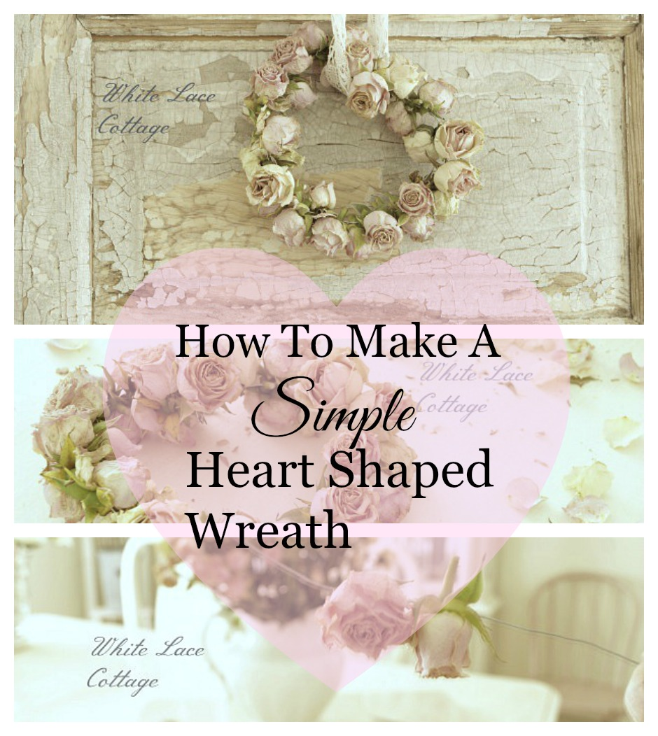simple heart shaped wreath
