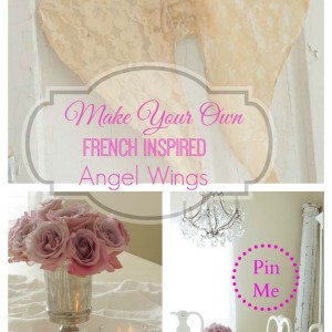 make your own french inspired angel wings